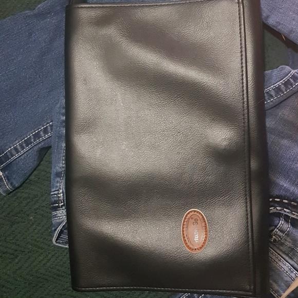 hong go Handbags - 12x8 laptop leather case